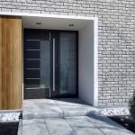 Drzwi zewnętrzne firmy Aluprof