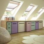 Funkcjonalne wykorzystanie okien dachowych