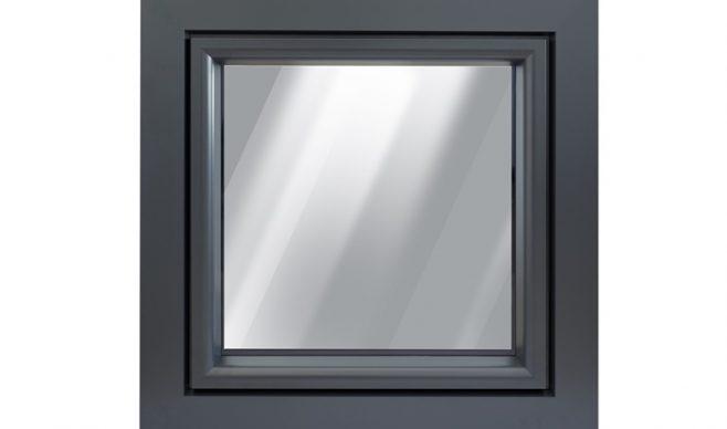 Okna PCV z nakładką aluminiową