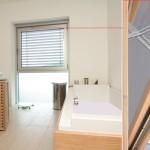 Okno łazienkowe firmy Roto Frank
