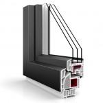 Nakładki aluminiowe na systemie Vetrex V90+