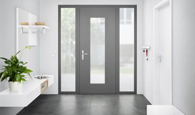 Ukryty zawias do drzwi wejściowych z aluminium